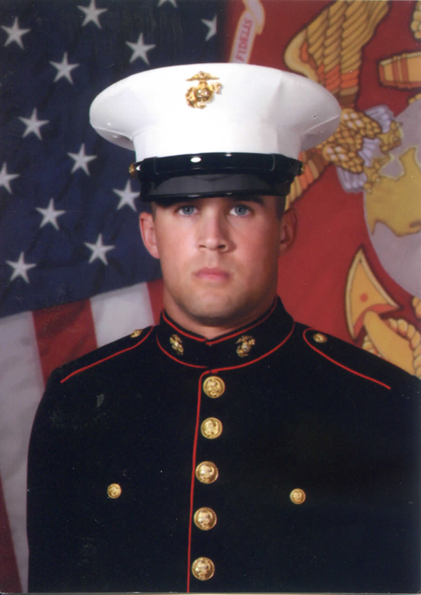 private eric michael gullett graduates from marine corps