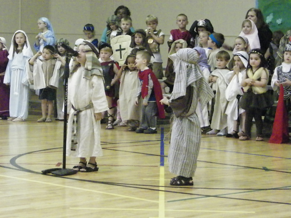 The program was a great success with students dressing up in Old Testament costumes to tell the ... & Galilee Baptist Academy Preschoolers Tell the Story of David and ...