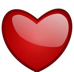 Heart Red Clip ArtB