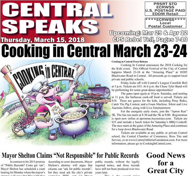 Today's Newspaper PDF Online | Central Speaks